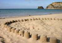 Beach Party Sandcastle Competition