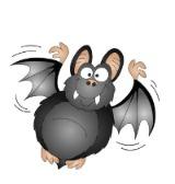 Halloween Party Game Splat The Bat