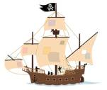 Peter Pan Pirate Ship