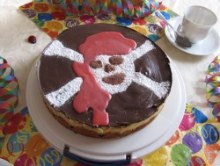 Pirate Party Food - Birthday Cake