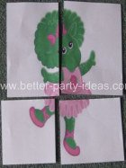 Barney Party Game