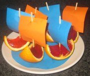 Birthday Party Food Ideas - Jolly Jelly Boats